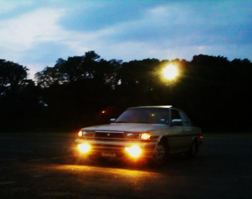 Photo Image Gallery & Touchup Paint: Toyota Cressida in Beige Metallic   (4G8)  YEARS: 1987-1988