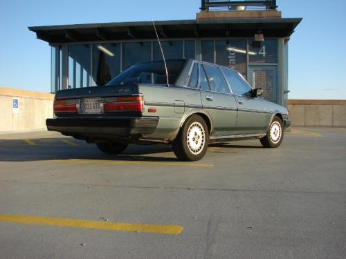 Photo Image Gallery & Touchup Paint: Toyota Cressida in Jade Gray Metallic  (6H8)  YEARS: 1985-1986