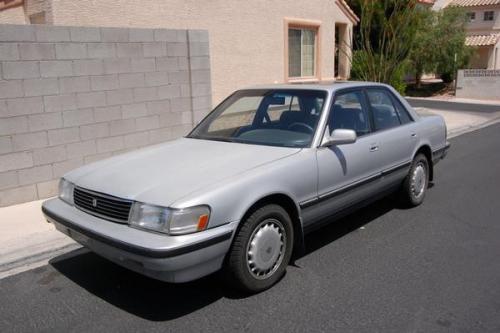 Photo Image Gallery & Touchup Paint: Toyota Cressida in Silvermist Metallic   (176)  YEARS: 1989-1992