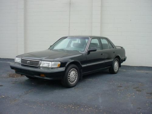 Photo Image Gallery & Touchup Paint: Toyota Cressida in Satin Black Metallic  (205)  YEARS: 1991-1992