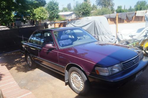 Photo Image Gallery & Touchup Paint: Toyota Cressida in Dark Amethyst Pearl  (3K1)  YEARS: 1991-1992