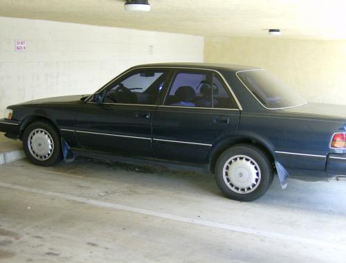 Photo Image Gallery & Touchup Paint: Toyota Cressida in Dark Blue Pearl  (8E3)  YEARS: 1989-1990