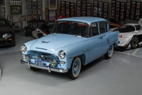 Photo Image Gallery & Touchup Paint: Toyota Crown in Cosmos Blue Metallic  (T1155)  YEARS: 1958-1959