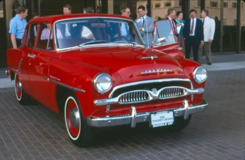 Photo Image Gallery & Touchup Paint: Toyota Crown in Seminole Red   (T332)  YEARS: 1958-1960