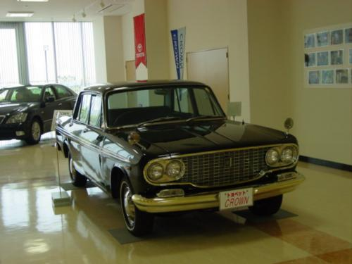 Photo Image Gallery & Touchup Paint: Toyota Crown in Black    (T26)  YEARS: 1965-1967