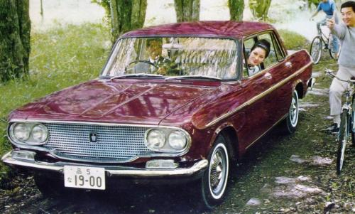 Photo Image Gallery & Touchup Paint: Toyota Crown in Carnival Red   (T335)  YEARS: 1965-1967