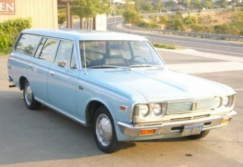 Photo Image Gallery & Touchup Paint: Toyota Crown in Horizontal Blue   (T1208)  YEARS: 1968-1971