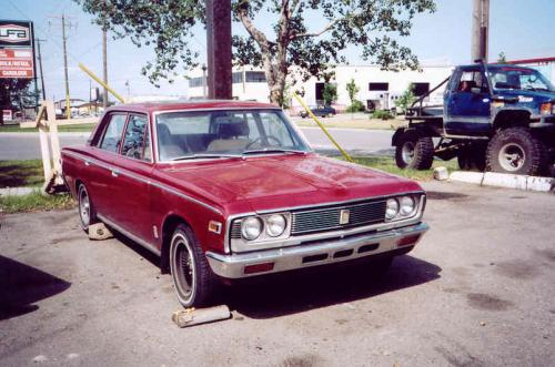 Photo Image Gallery & Touchup Paint: Toyota Crown in Alhambra Red   (T1422)  YEARS: 1968-1971
