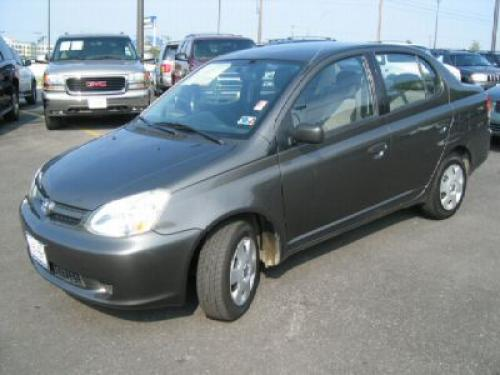 Photo Image Gallery & Touchup Paint: Toyota Echo in Phantom Gray Pearl  (1E3)  YEARS: 2003-2005