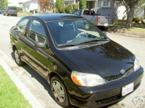 Photo Image Gallery & Touchup Paint: Toyota Echo in Black Sand Pearl  (209)  YEARS: 2000-2005