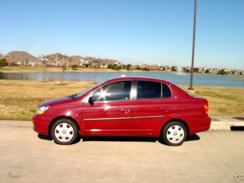 Photo Image Gallery & Touchup Paint: Toyota Echo in Impulse Red Pearl  (3P1)  YEARS: 2003-2005