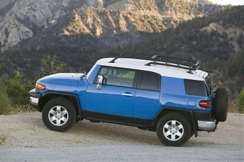 Photo Image Gallery & Touchup Paint: Toyota Fjcruiser in Voodoo Blue   (2JV)  YEARS: 2007-2009