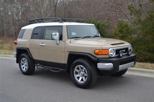 Photo Image Gallery & Touchup Paint: Toyota Fjcruiser in Quicksand    (2KP)  YEARS: 2011-2014