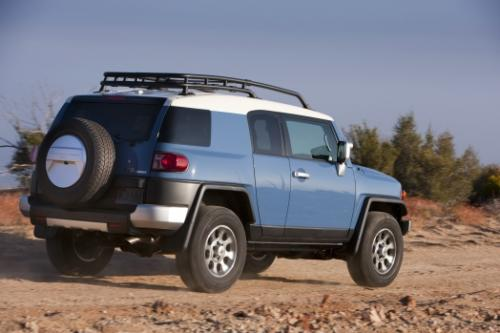 Photo Image Gallery & Touchup Paint: Toyota Fjcruiser in Calvary Blue   (2KQ)  YEARS: 2011-2013