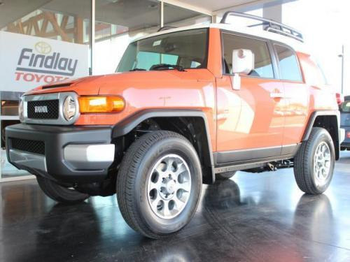 Photo Image Gallery & Touchup Paint: Toyota Fjcruiser in Magma    (2LF)  YEARS: 2013-2014