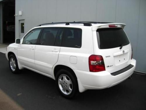 Photo Image Gallery & Touchup Paint: Toyota Highlander in Super White   (040)  YEARS: 2001-2007