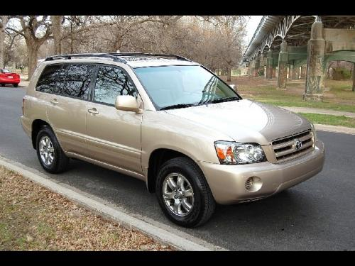 Photo Image Gallery & Touchup Paint: Toyota Highlander in Sonora Gold Pearl  (4R3)  YEARS: 2006-2007