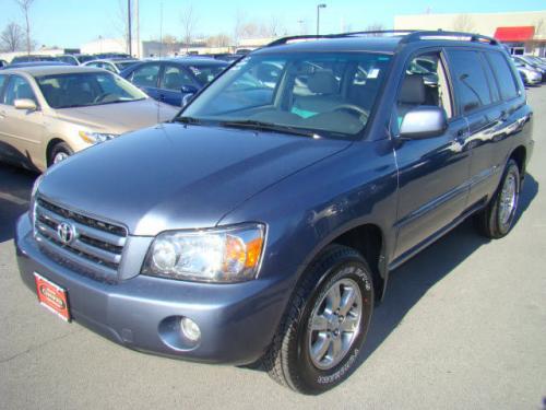 Photo Image Gallery & Touchup Paint: Toyota Highlander in Bluestone Metallic   (8N6)  YEARS: 2006-2007