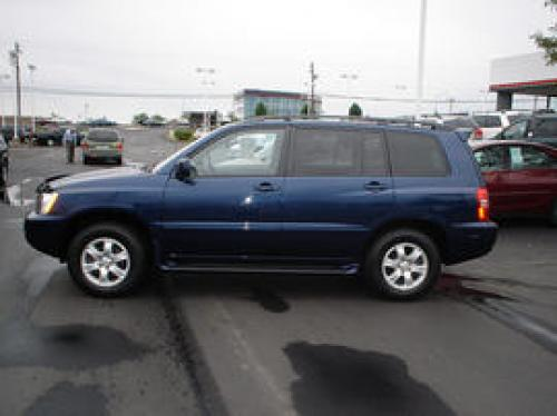 toyota highlander Photo Example of Paint Code 8P4