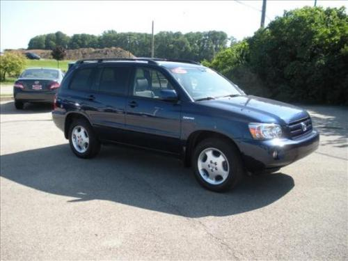 Photo Image Gallery & Touchup Paint: Toyota Highlander in Indigo Ink Pearl  (8P4)  YEARS: 2001-2007