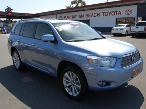 Photo Image Gallery & Touchup Paint: Toyota Highlander in Wave Line Pearl  (8S7)  YEARS: 2008-2010