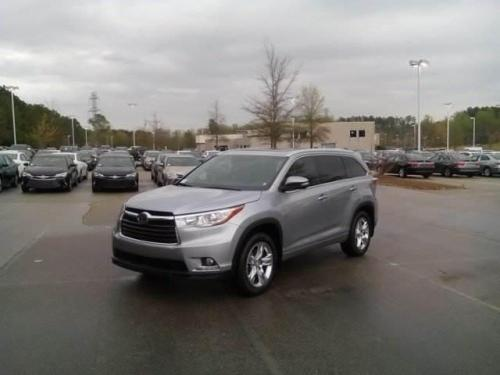 Photo Image Gallery & Touchup Paint: Toyota Highlander in Silver Sky Metallic  (1D6)  YEARS: 2014-2016