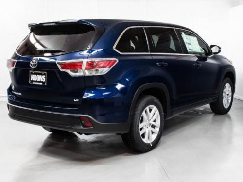Photo Image Gallery & Touchup Paint: Toyota Highlander in Nautical Blue Metallic  (8S6)  YEARS: 2014-2016
