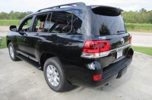 Photo Image Gallery & Touchup Paint: Toyota Landcruiser in Midnight Black Metallic  (218)  YEARS: 2016-2017