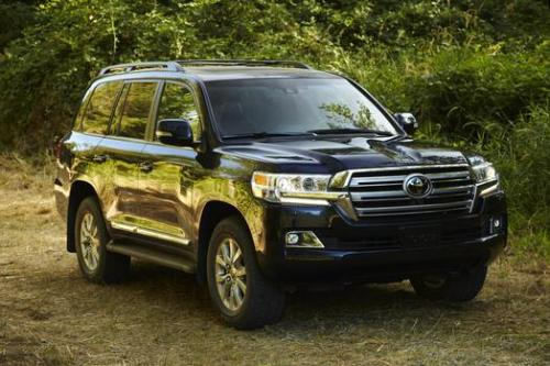 Photo Image Gallery & Touchup Paint: Toyota Landcruiser in Blue Onyx Pearl  (8P8)  YEARS: 2016-2017