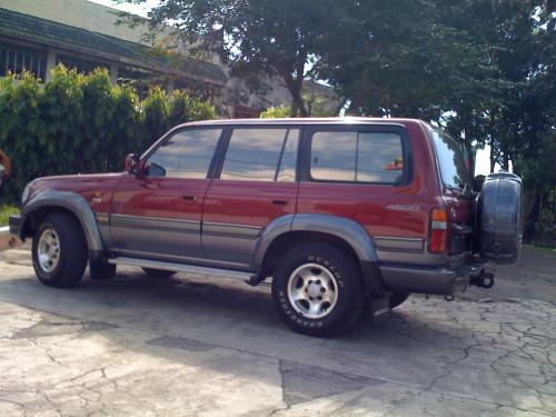 Photo Image Gallery & Touchup Paint: Toyota Landcruiser in Mdred Blueslate   (26W)  YEARS: 1994-1994