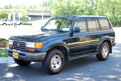 Photo Image Gallery & Touchup Paint: Toyota Landcruiser in Dark Emerald Pearl  (6M1)  YEARS: 1993-1997