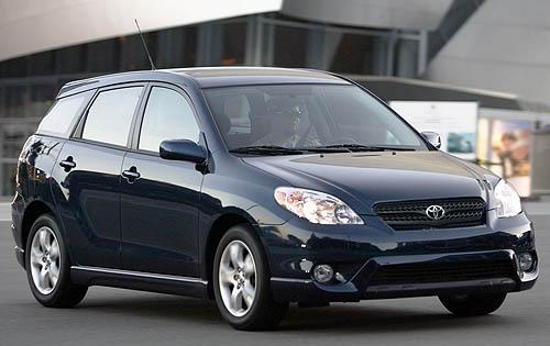 Photo Image Gallery & Touchup Paint: Toyota Matrix in Indigo Ink Pearl  (8P4)  YEARS: 2003-2008