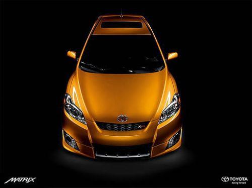 Photo Image Gallery & Touchup Paint: Toyota Matrix in Sundance Metallic   (4T6)  YEARS: 2009-2010