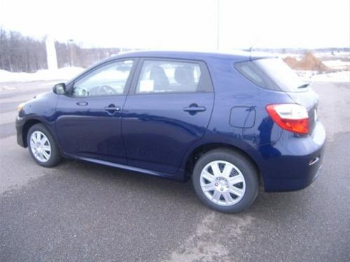 Photo Image Gallery & Touchup Paint: Toyota Matrix in Nautical Blue Metallic  (8S6)  YEARS: 2009-2013