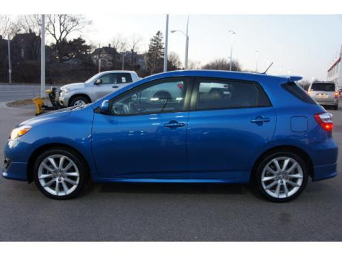 Photo Image Gallery & Touchup Paint: Toyota Matrix in Blue Streak Metallic  (8T7)  YEARS: 2009-2010
