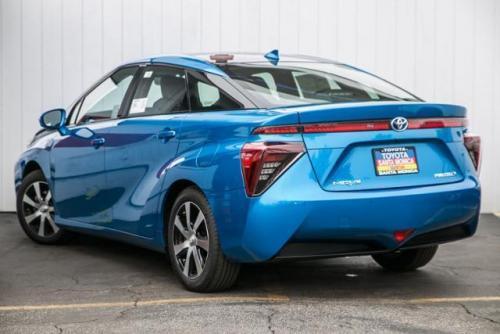 Photo Image Gallery & Touchup Paint: Toyota Mirai in Atmospheric Blue Metallic  (2NV)  YEARS: 2017-2017