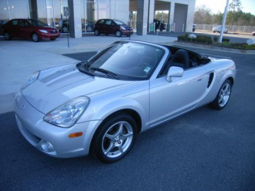 Photo Image Gallery & Touchup Paint: Toyota Mr2 in Silver Streak Mica  (1E7)  YEARS: 2003-2005