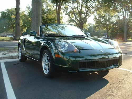 Photo Image Gallery & Touchup Paint: Toyota Mr2 in Electric Green Mica  (6R4)  YEARS: 2001-2005