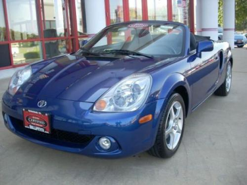 Photo Image Gallery & Touchup Paint: Toyota Mr2 in Spectra Blue Mica  (8M6)  YEARS: 2000-2005