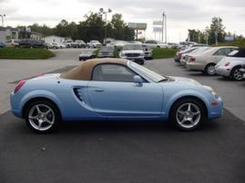 Photo Image Gallery & Touchup Paint: Toyota Mr2 in Paradise Blue Metallic  (8R2)  YEARS: 2003-2005
