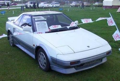 Photo Image Gallery & Touchup Paint: Toyota Mr2 in White    (043)  YEARS: 1989-1989