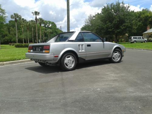 Photo Image Gallery & Touchup Paint: Toyota Mr2 in Super Silver Metallic  (150)  YEARS: 1985-1986