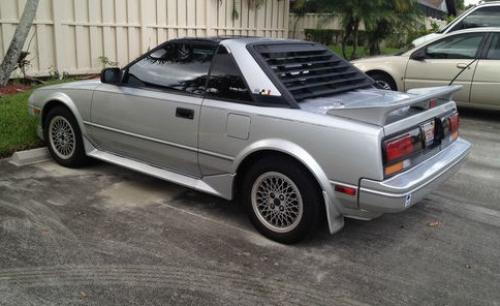Photo Image Gallery & Touchup Paint: Toyota Mr2 in Silver Metallic   (166)  YEARS: 1987-1987