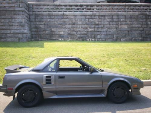 Photo Image Gallery & Touchup Paint: Toyota Mr2 in Gray Metallic   (167)  YEARS: 1988-1989