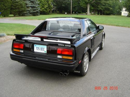 Photo Image Gallery & Touchup Paint: Toyota Mr2 in Black    (202)  YEARS: 1989-1989