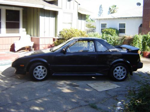 Photo Image Gallery & Touchup Paint: Toyota Mr2 in Black Metallic   (204)  YEARS: 1986-1988