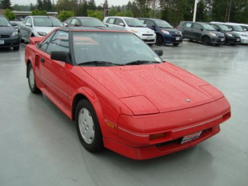 Photo Image Gallery & Touchup Paint: Toyota Mr2 in Super Red   (3E5)  YEARS: 1985-1989