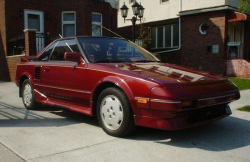 Photo Image Gallery & Touchup Paint: Toyota Mr2 in Medium Red Pearl  (3H4)  YEARS: 1989-1989