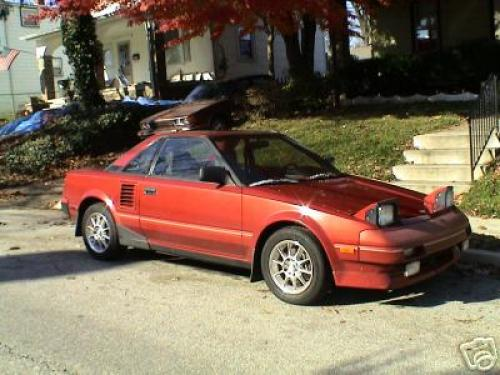 Photo Image Gallery & Touchup Paint: Toyota Mr2 in Orange Pearl   (3H5)  YEARS: 1988-1988