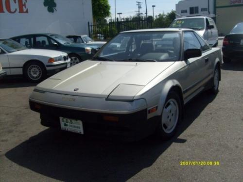 Photo Image Gallery & Touchup Paint: Toyota Mr2 in Light Beige Metallic  (4E3)  YEARS: 1985-1986